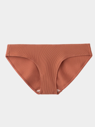 [KEnTe] Ribbed Bottom (SALE対象:Tバック)(TERRACOTTA-S/M-ショーツ)