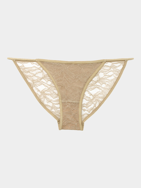 [KEnTe] Lace Fit Bottom(NUDE-S/M-ショーツ)