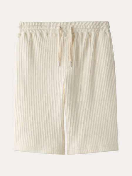 [KEnTe] Striped Half Pants(IVORY-M/L)