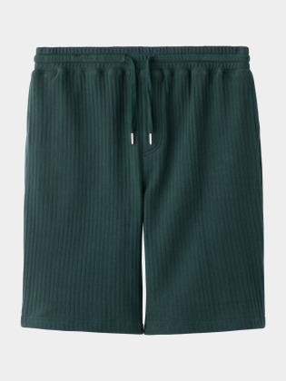[KEnTe] Striped Half Pants(GREEN-M/L)