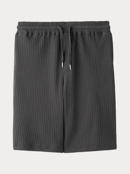 [KEnTe] Striped Half Pants(C/GRAY-M/L)
