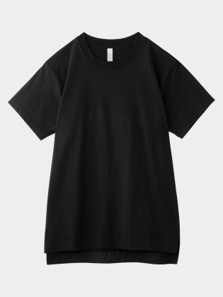 [KEnTe] Basic Cotton Tee(BLACK-M/L)