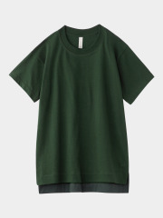 [KEnTe] Basic Cotton Tee(GREEN-M/L)