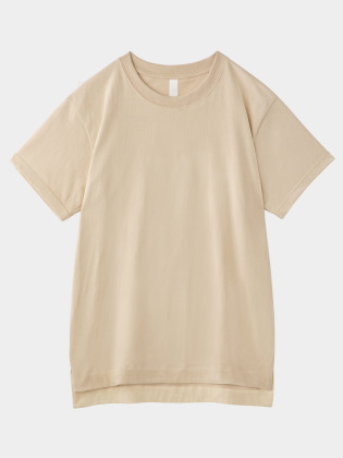 [KEnTe] Basic Cotton Tee(BEIGE-M/L)