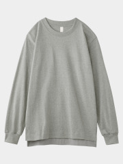 [KEnTe] Basic Cotton Long Tee(GRAY-M/L)