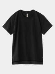 [KEnTe] Basic Cotton Tee(BLACK-M)