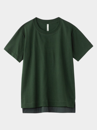 [KEnTe] Basic Cotton Tee(GREEN-M)