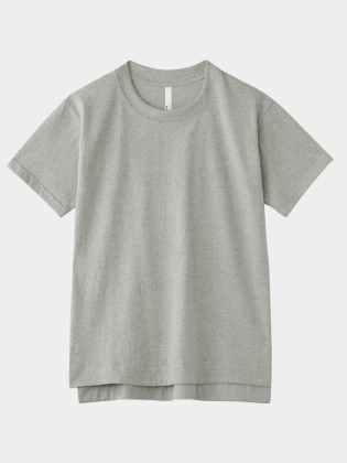 [KEnTe] Basic Cotton Tee(GRAY-M)