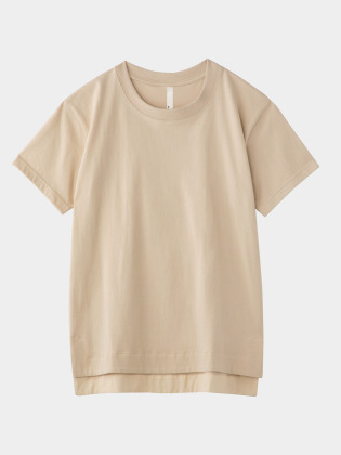 [KEnTe] Basic Cotton Tee(BEIGE-M)