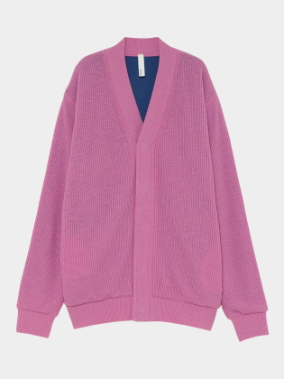 [KEnTe] Color Knit Cardigan(PINK-M/L)