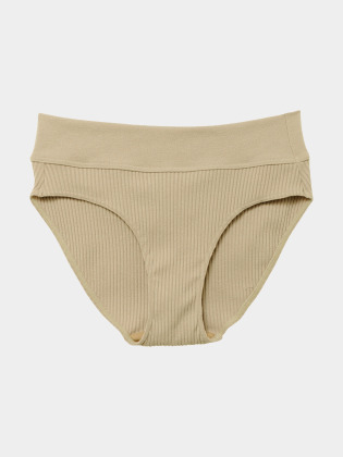 [KEnTe] Modern Ribbed Shorts(BEIGE-S/M)