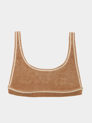 [KEnTe] Cotton Pile Bra(MOCHA-S/M)