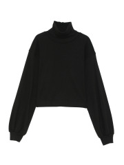 [KEnTe] Cotton Turtleneck Tops(BLACK-M)