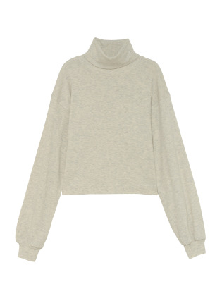[KEnTe] Cotton Turtleneck Tops(OATMEAL-M)