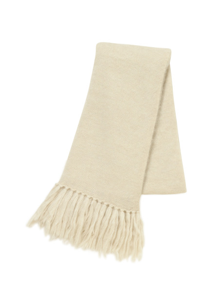 [KEnTe] Mohair Stole(IVORY-ONE SIZE)