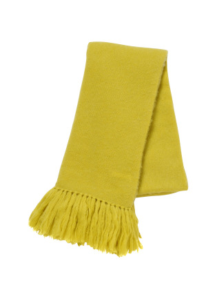 [KEnTe] Mohair Stole(YELLOW-ONE SIZE)