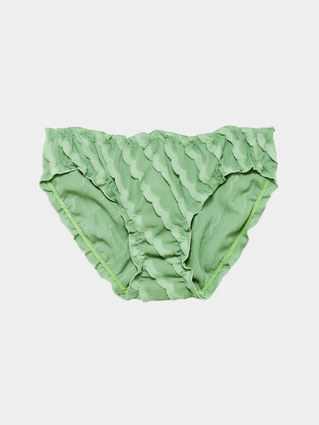 [KEnTe] Basic Frill Shorts(GREEN-S/M)