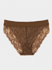 [KEnTe] Over Lace Shorts(BROWN-S/M)