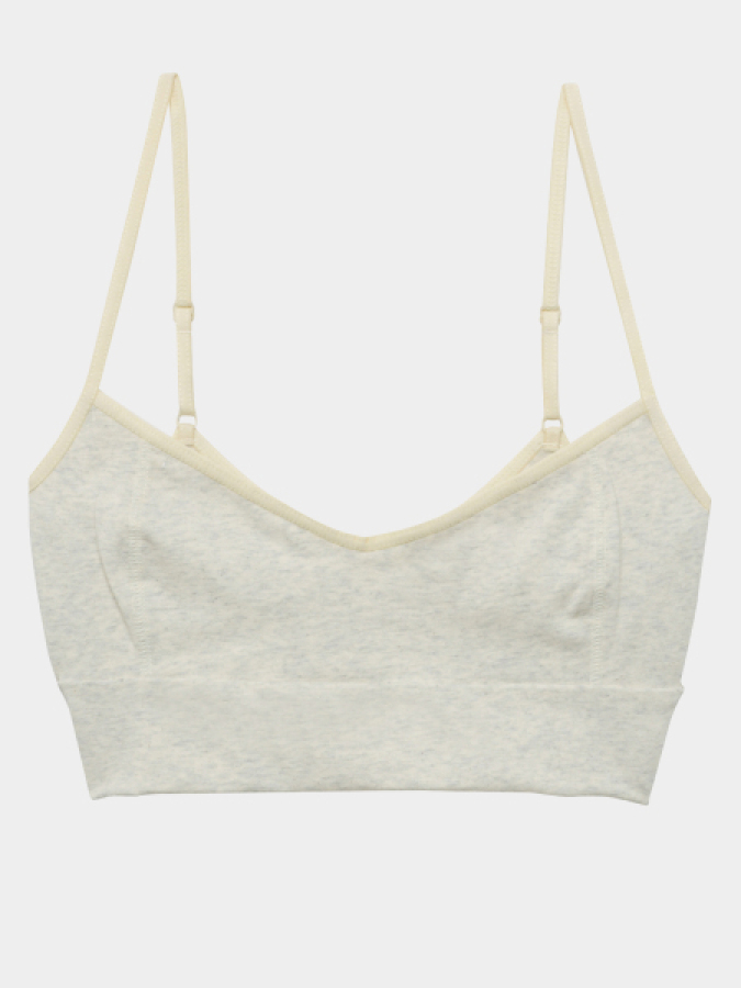 [KEnTe] Back Open Bra(OATMEAL-S/M)