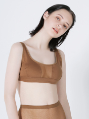 [KEnTe] Front Sheer Bra
