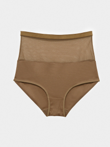 【 予約販売 (10月下旬発送) 】[KEnTe] Sheer Shorts(CAMEL-S/M)